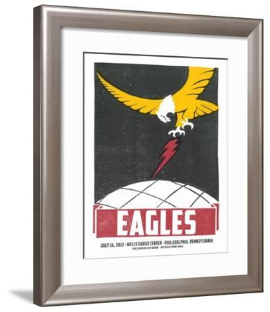 Eagles Philadelphia-Print Mafia-Framed Serigraph