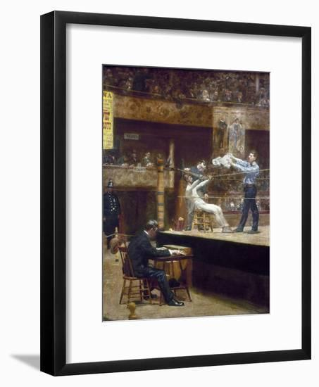 Eakins: Between Rounds-Thomas Cowperthwait Eakins-Framed Giclee Print