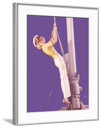 Pin-Up Girl: Sailboat Sailor