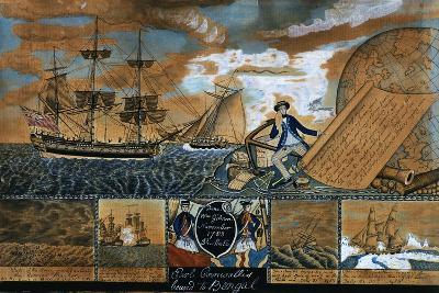 Earl of Cornwallis Bound to Benal, 1783-William Gibson-Giclee Print