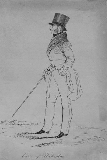 Earl of Uxbridge, 1838-Thomas Wilson-Giclee Print