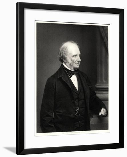 Earl Russell, 19th Century-William Holl II-Framed Giclee Print
