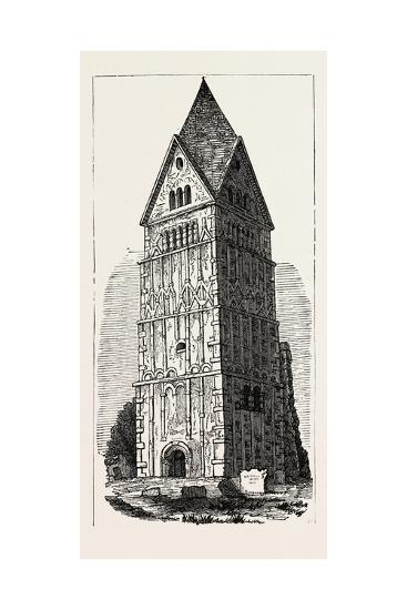Earl's Barton Lincolnshire--Giclee Print