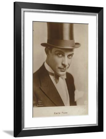 Earle Foxe--Framed Photographic Print