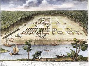 Earliest View of Savannah