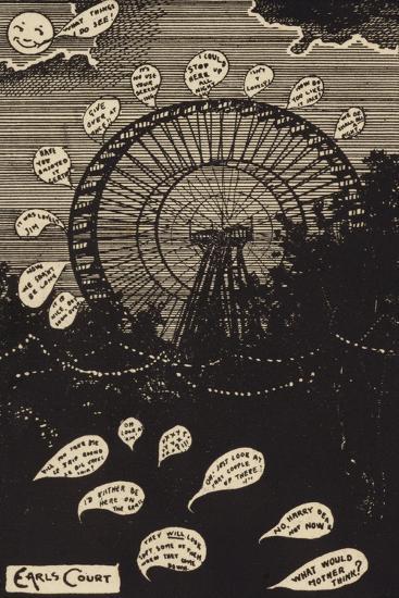 Earls Court--Giclee Print