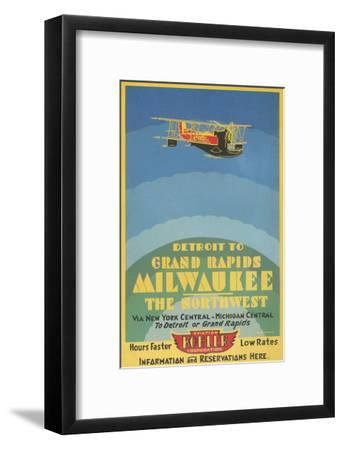 Early Ad for Midwestern Air Travel