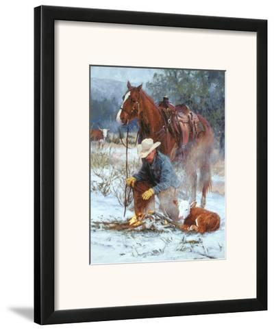 Early Arrival-Bruce Greene-Framed Art Print