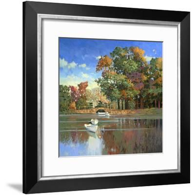 Early Autumn in the Loire-Max Hayslette-Framed Premium Giclee Print