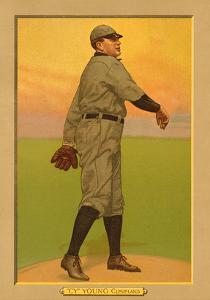 Early Baseball Card, Cy Young