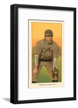 Early Baseball Card, Joe Tinker