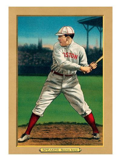 Early Baseball Card, Tris Speaker--Art Print
