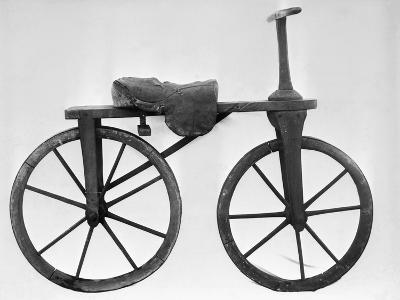 Early Bicycle--Photographic Print