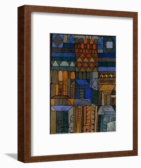 Early Chill (Beginnende Kühle). 1937-Paul Klee-Framed Giclee Print