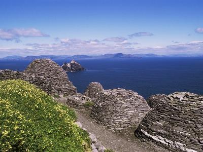Early Christian Settlement, Skellig Michael, Unesco World Heritage Site, Munster-Michael Jenner-Photographic Print
