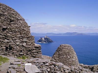 Early Christian Site, Skellig Michael, County Kerry, Munster, Republic of Ireland (Eire), Europe-Michael Jenner-Photographic Print