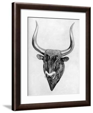 Early Cretan Libation Vessel, Found at Knossos, 1933-1934--Framed Giclee Print