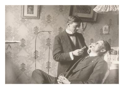 Early Dentistry--Art Print