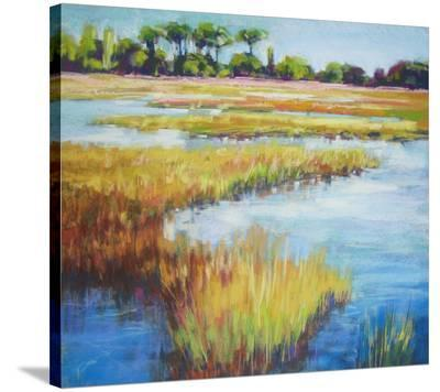 Early Fall Marsh--Stretched Canvas Print