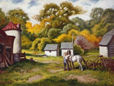 Early Fall-Stan Poray-Art Print