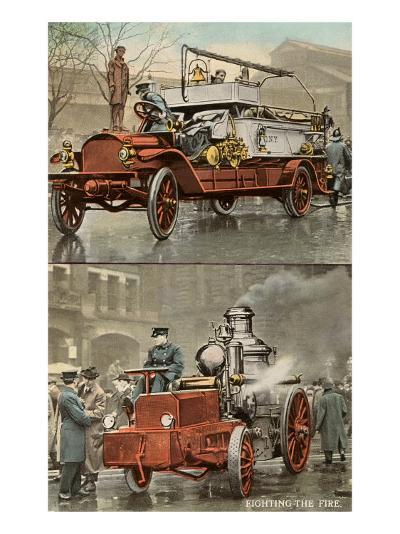 Early Fire Equipment--Art Print