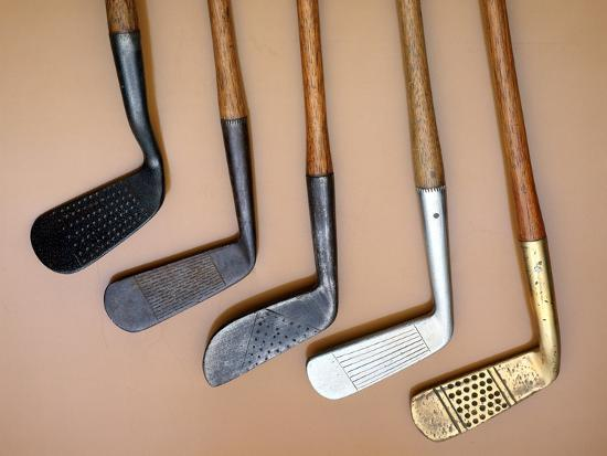 Early iron golf clubs-Unknown-Giclee Print