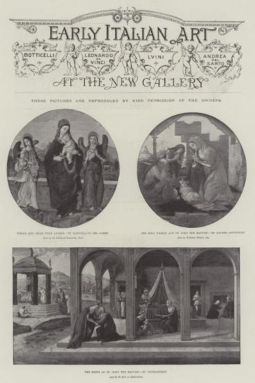 Early Italian Art--Giclee Print