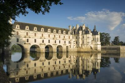 Early Morning at Chateau Chenonceau, Indre-Et-Loire, Centre, France-Brian Jannsen-Photographic Print