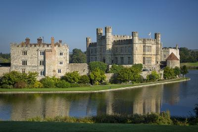 Early Morning at Leeds Castle, Maidstone, Kent, England-Brian Jannsen-Photographic Print