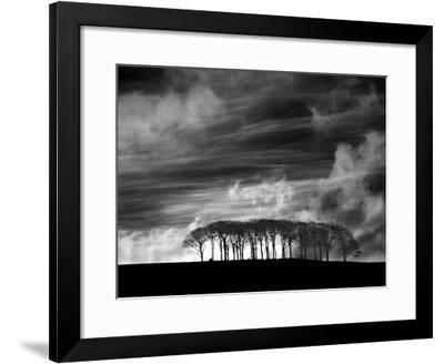 Early Morning Clouds-Martin Henson-Framed Giclee Print