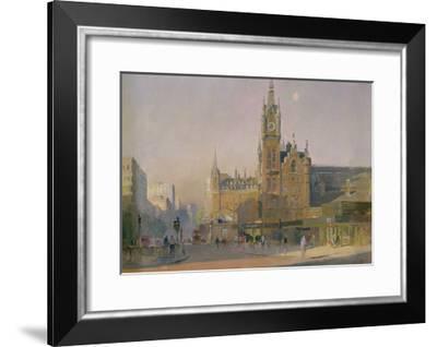 Early Morning, Euston Road, 1988-Trevor Chamberlain-Framed Giclee Print