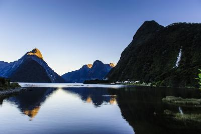 Early Morning Light in Milford Sound-Michael-Photographic Print