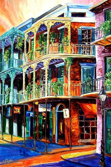 Early Morning on Royal Street-Diane Millsap-Art Print