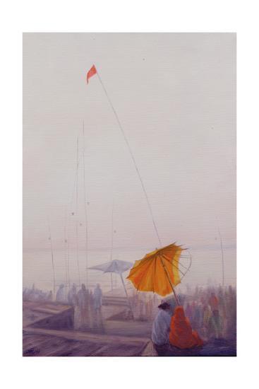 Early Morning, Varanasi-Derek Hare-Giclee Print