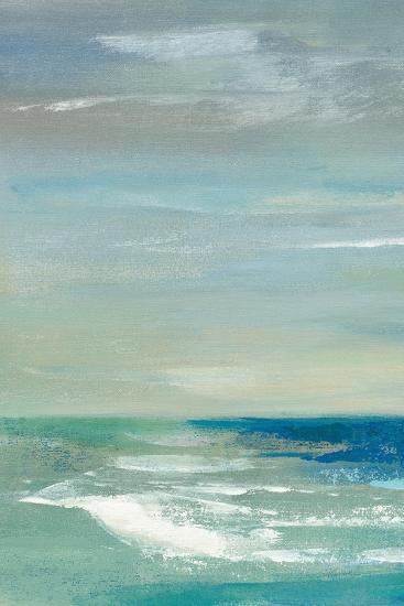 Early Morning Waves I Panel I-Silvia Vassileva-Art Print