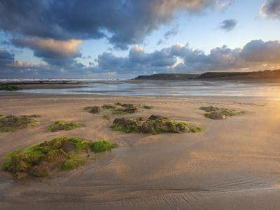 Early Morning, Widemouth Bay, Cornwall, England, United Kingdom, Europe-Chris Hepburn-Photographic Print
