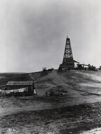 Early Oil Drilling Operation