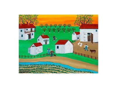 Early San Diego Ranch-Alexa Alexander-Art Print