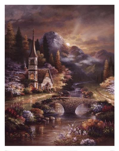 Early Service-James Lee-Art Print