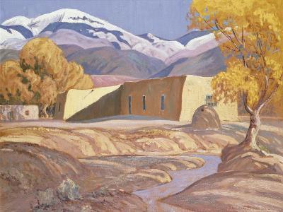 Early Snow-Orrin Sheldon Parsons-Giclee Print
