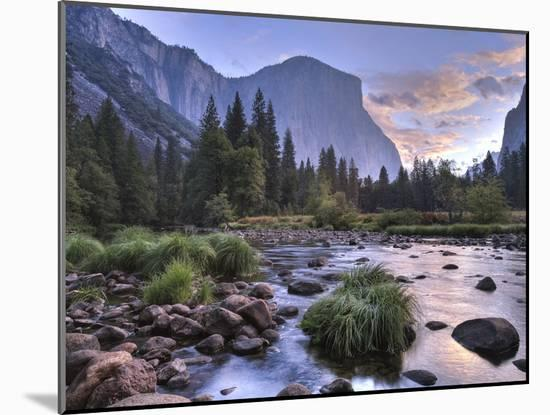 Early Sunrise, Yosemite, California, USA-Tom Norring-Mounted Photographic Print