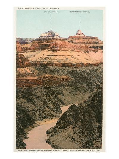Early Views of Grand Canyon--Art Print