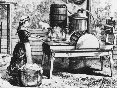 Early Washing Machine-Chaloner Woods-Photographic Print