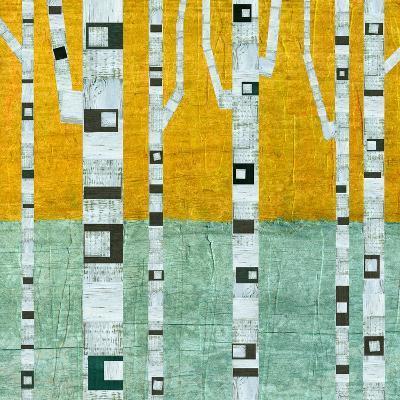 Early Winter Birches-Michelle Calkins-Art Print