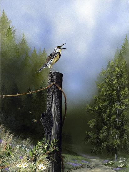 EarlyMorningSong16x20-Russell Bentley-Giclee Print