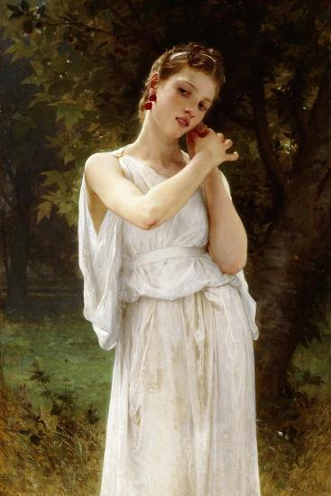 Earrings, 1891-William Adolphe Bouguereau-Giclee Print