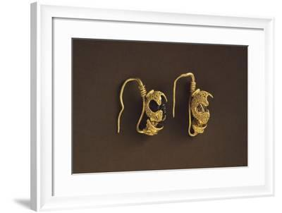 Earrings from Riparbella--Framed Photographic Print
