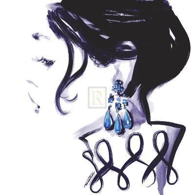 Earrings-Sharon Pinsker-Art Print