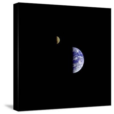 Earth and Moon in a Single Photographic Frame