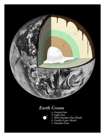 Earth Cream-Florent Bodart-Art Print